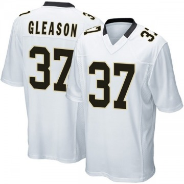 Youth Nike New Orleans Saints Steve Gleason White Jersey - Game