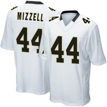 Youth Nike New Orleans Saints Taquan Mizzell White Jersey - Game