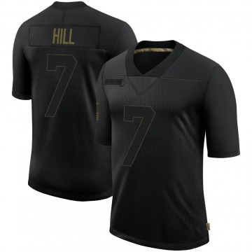 Youth Nike New Orleans Saints Taysom Hill Black 2020 Salute To Service Jersey - Limited