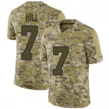 Youth Nike New Orleans Saints Taysom Hill Camo 2018 Salute to Service Jersey - Limited