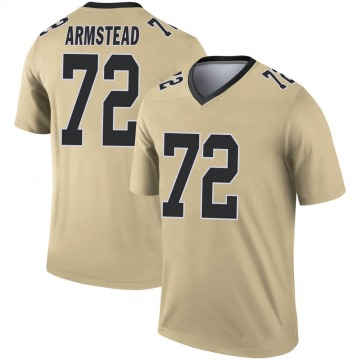 Youth Nike New Orleans Saints Terron Armstead Gold Inverted Jersey - Legend