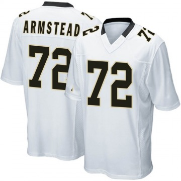Youth Nike New Orleans Saints Terron Armstead White Jersey - Game