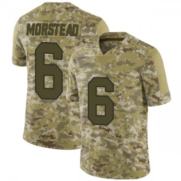 Youth Nike New Orleans Saints Thomas Morstead Camo 2018 Salute to Service Jersey - Limited