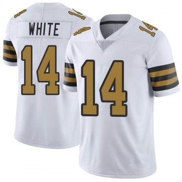Youth Nike New Orleans Saints Tim White White Color Rush Jersey - Limited