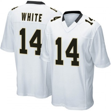 Youth Nike New Orleans Saints Tim White White Jersey - Game