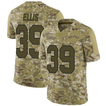 Youth Nike New Orleans Saints Tino Ellis Camo 2018 Salute to Service Jersey - Limited