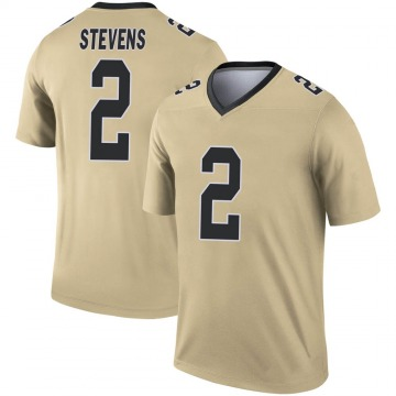 Youth Nike New Orleans Saints Tommy Stevens Gold Inverted Jersey - Legend