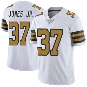 Youth Nike New Orleans Saints Tony Jones Jr. White Color Rush Jersey - Limited