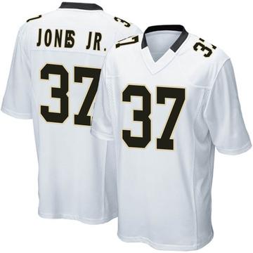 Youth Nike New Orleans Saints Tony Jones Jr. White Jersey - Game