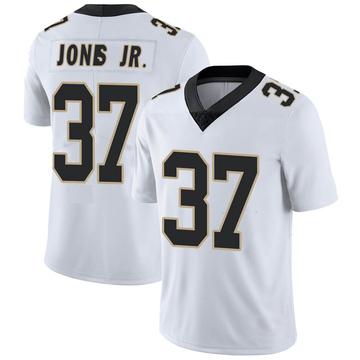 Youth Nike New Orleans Saints Tony Jones Jr. White Vapor Untouchable Jersey - Limited