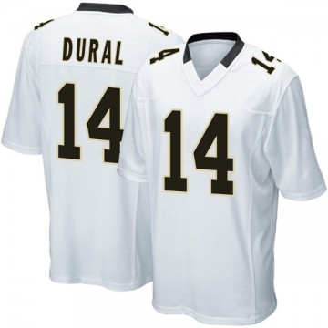 Youth Nike New Orleans Saints Travin Dural White Jersey - Game