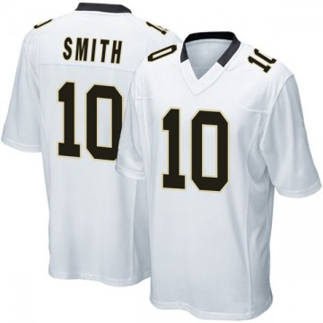 Youth Nike New Orleans Saints Tre'Quan Smith White Jersey - Game