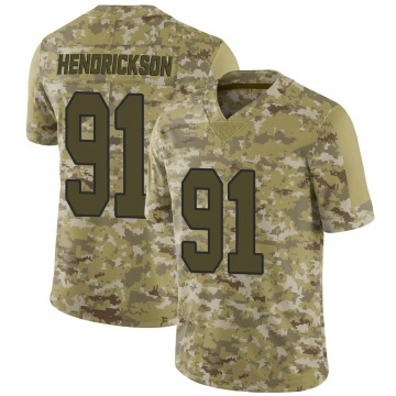 Youth Nike New Orleans Saints Trey Hendrickson Camo 2018 Salute to Service Jersey - Limited