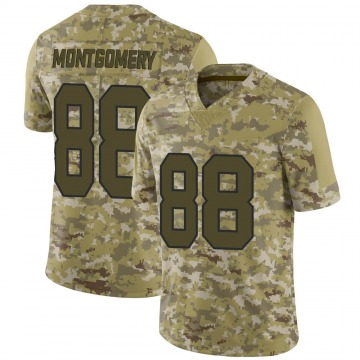 Youth Nike New Orleans Saints Ty Montgomery Camo 2018 Salute to Service Jersey - Limited