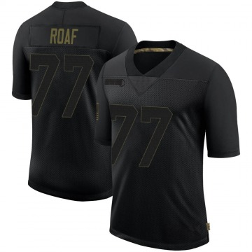 Youth Nike New Orleans Saints Willie Roaf Black 2020 Salute To Service Jersey - Limited