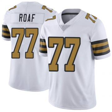 Youth Nike New Orleans Saints Willie Roaf White Color Rush Jersey - Limited