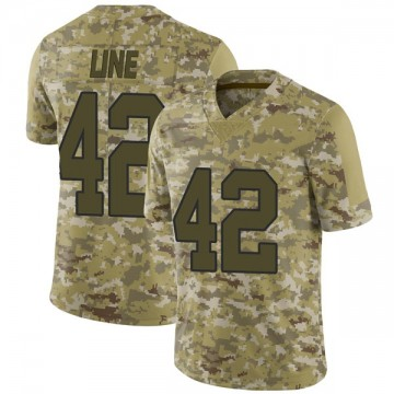 Youth Nike New Orleans Saints Zach Line Camo 2018 Salute to Service Jersey - Limited
