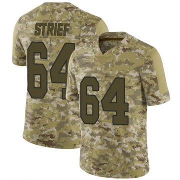 Youth Nike New Orleans Saints Zach Strief Camo 2018 Salute to Service Jersey - Limited