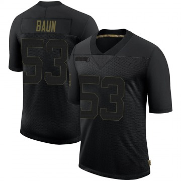 Youth Nike New Orleans Saints Zack Baun Black 2020 Salute To Service Jersey - Limited