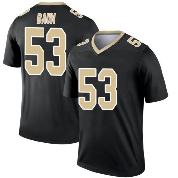 Youth Nike New Orleans Saints Zack Baun Black Jersey - Legend